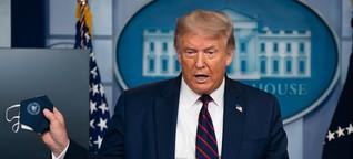 Donald Trump und seine Corona-Erkrankung: Auf diesen Terminen war der US-Präsident zuletzt - DER SPIEGEL - Politik