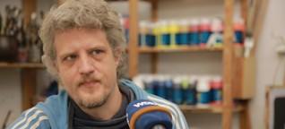 """Kunst und Depressionen: """"Malen ist für mich existenziell"""""""