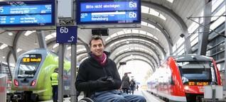 Barrierefreiheit - keine Priorität bei der Bahn?