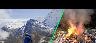 DIE STORY | Ansturm am Mount Everest - Ein Naturparadies versinkt im Müll |