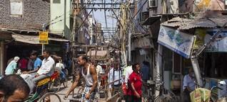 """Old Delhi mit dem Fahrrad - """"Wer diese Tour überlebt, kann überall radeln"""""""
