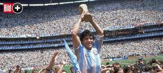 """Diego Maradona: Biograf spricht zum 60. Geburtstag - """"Er geht nicht mehr raus"""""""