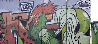 Street Art in Stadt und Kreis Offenbach: Bilder