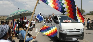 Evo Morales wieder in Bolivien: Rückkehr aus dem Exil