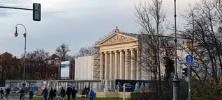 Glyptothek in München am Königsplatz