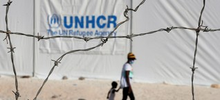 Das Leben im neuen Flüchtlingslager Kara Tepe