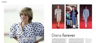 Diana Forever! Die Stil-Ikone feiert dieser Tage nicht zufällig ein Comeback