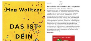 Rezension von Meg Wolitzer auf Brigitte.de