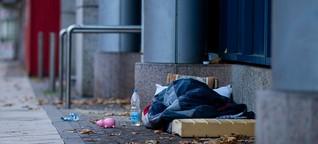Am Rande der Gesellschaft: Corona-Herbst auf der Straße