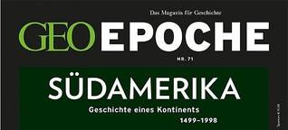 GEO EPOCHE Nr. 71 - 02/15 - Südamerika
