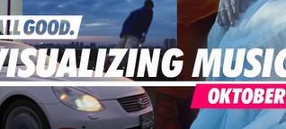 Visualizing Music - die besten Musikvideos des Monats: Oktober 2019