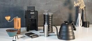 Kaffee-Zubehör: Mühlen, Dosierhilfen und Milchaufschäumer im Test - DER SPIEGEL - Tests