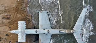 """Das """"Kaspische Seemonster"""" wird eine Touristen-Attraktion"""