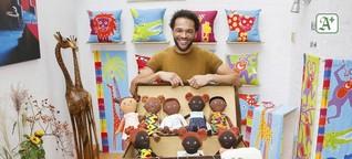 Hamburger verkauft schwarze Puppen gegen Rassismus
