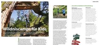 Wildniscamps für Kids