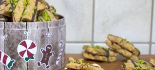Pistazien Nusstaler – Grandiose & Schnelle Plätzchen zu Weihnachten