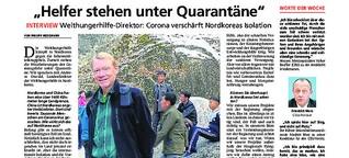 """""""Helfer stehen unter Quarantäne"""""""