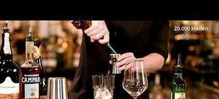 "#welovetoseeyouagain | AIDA Signature Cocktail ""20.000 Miles"""