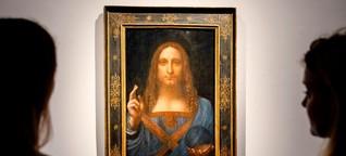 """Es ist das teuerste Gemälde der Welt. Doch """"Salvator Mundi"""" ist verschwunden. Wer hat das Bild?"""