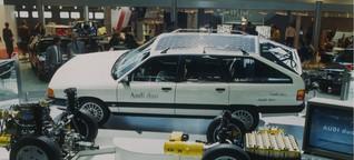 Der Blitz, den niemand wollte: Audi duo, erster Hybrid auf dem Markt