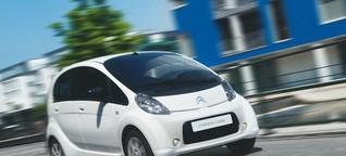 Applaus den Gründervätern: Mitsubishi i-MiEV, Peugeot iOn & Citroën C-Zero