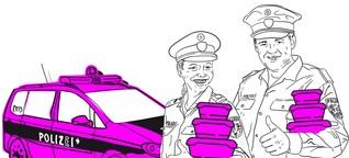 Polizei mit Nebenjobs: Tupperware vom Kommissar