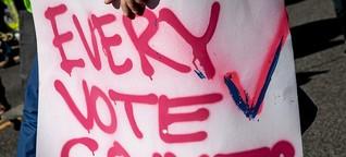 Swing States: Wo sich die US-Wahl 2020 jetzt entscheidet