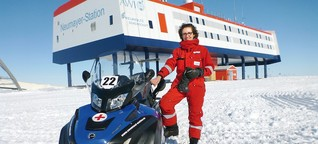 Chirurgin arbeitet ein Jahr in der Neumayer-III-Station in der Antarktis