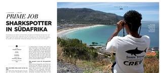 Primesurfing: Sharkspotter in Südafrika