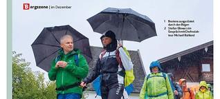 Bergsteiger-Leser trotzen schlechtem Wetter