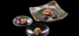 Japanische Kaiseki-Küche: Präzise Installationskunst