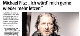 """Michael Fitz über den großen Spaß, in """"Die Toten von Salzburg"""" zu spielen"""