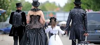 25. Wave Gotik Treffen Leipzig - Gruftis und ihre Kinder