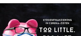 Studienfinanzierung in Corona-Zeeiten: Too little, too late