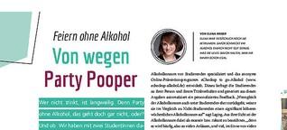 Feiern ohne Alkohol: Von wegen Party Pooper