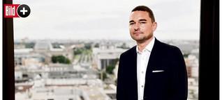 Hertha-Investor Lars Windhorst - Exklusiv-Interview nach neuem 150-Mio-Investment