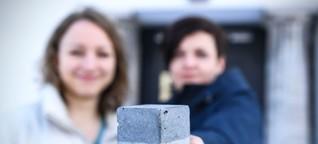 Häuser aus Kohle: Berliner Gründerinnen wollen Bauindustrie revolutionieren