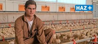 Eine Stunde mit Landwirtschafts-Azubi Finn Borges: Auf dem Bauernhof geht auch im Winter die Arbeit nicht aus