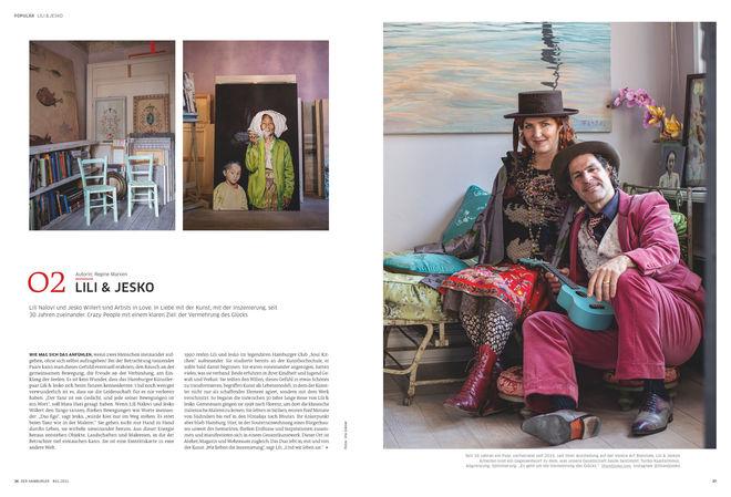 Porträt: Lili & Jesko