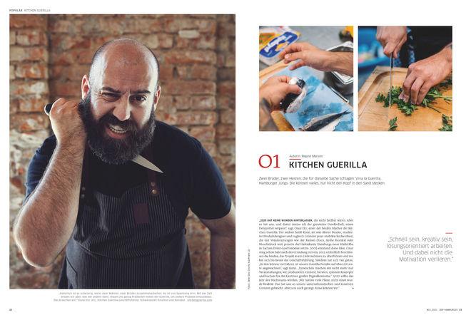 Porträt: Kitchen Guerilla Hamburg