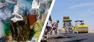 Diese Idee macht aus unseren Straßen Müllhalden - und aus den Müllhalden Straßen!