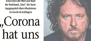 """Steve Lukather von """"Toto"""" über das Musizieren im Covid-19-Gefängnis"""