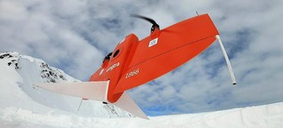 Gefahr im Gebirge : Lawinenschutz per Drohne  / gut zu wissen, BR