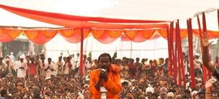 Friedensmarsch von Indien nach Genf: Jai Jagat 2020 by alleweltonair
