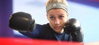 Boxerin Tina Rupprecht, wie fühlt sich ein Schlag ins Gesicht an?
