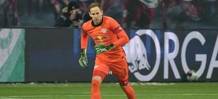 Péter Gulácsi von RB Leipzig zeigt Rückgrat