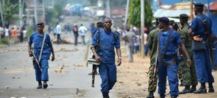 Burundi: Attentat auf Armeechef | DW | 11.09.2015