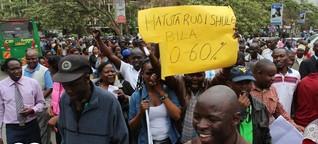 Landesweite Lehrerstreiks in Kenia | DW | 07.09.2015