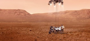 Zehn ungelöste Rätsel des Roten Planeten