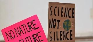 Es wird wieder demonstriert: Globaler Klima-Streik-Tag